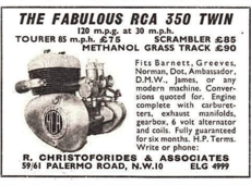RCA 350cc engine.