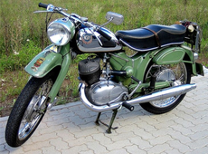 NSU 1955 250 Superlux.