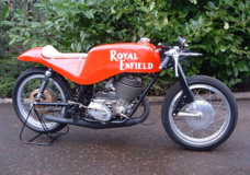 Royal Enfield 1965 GP5 250.