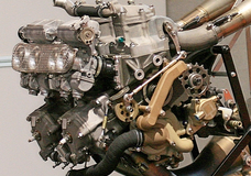 Honda 1997 NSR500 engine.