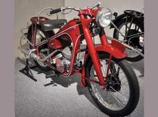 Honda's first motorcycle 1949 Dream 100cc two-stroke.