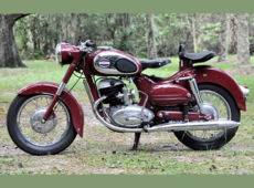 Allstate-Puch 1960 twin piston 250. Sold in the USA by Sears the catalogue company.