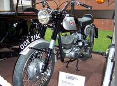 Ariel 1966 prototype 160cc updated BSA Bantam.