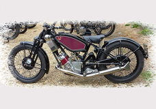 Scott 1938 600 Flying Squirrel.